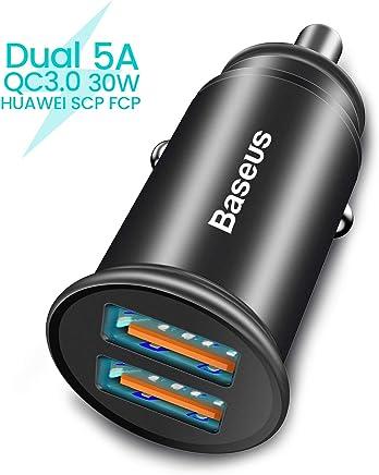 1f6da8662c8 Baseus - Cargador de Coche con Adaptador USB para iPhone X/XS/XR/