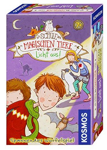 KOSMOS 711405 - Die Schule der magischen Tiere - Licht aus! Mitbringspiel, spannendes Würfelspiel für Kinder ab 7 Jahre