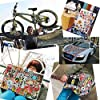Waterproof Vinyl Stickers for Laptop Water Bottles Hydro flask Motorcycle Bicycle Skateboard Luggage Car Bumper Guitar Decals (100 Pcs Brand Logo Style Stickers) #1