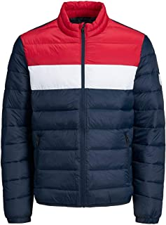 Jack & Jones Men's Jjemagic Puffer Collar Sts Jacket