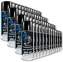 AAB PC Spray Limpiador 400ml - Limpiar Teclados, Ordenadores, Copiadoras, Cámaras, Impresoras y Otros Equipos...
