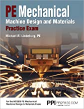 PE Mechanical Machine Design and Materials Practice Exam
