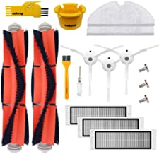 Accessory Kit for Xiaomi Mi Robot Xiaomi mijia roborock s50 s51 roborock 2 Vacuum Cleaner Replacement Parts Pack of Main Brush,Hepa Filter,Side Brush,Cleaning Tool and Mop Cloth
