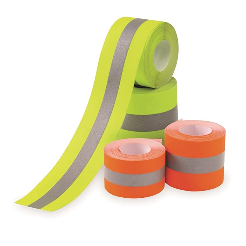 Sew on High Visibility Hi Vis Retro reflective fabric tape