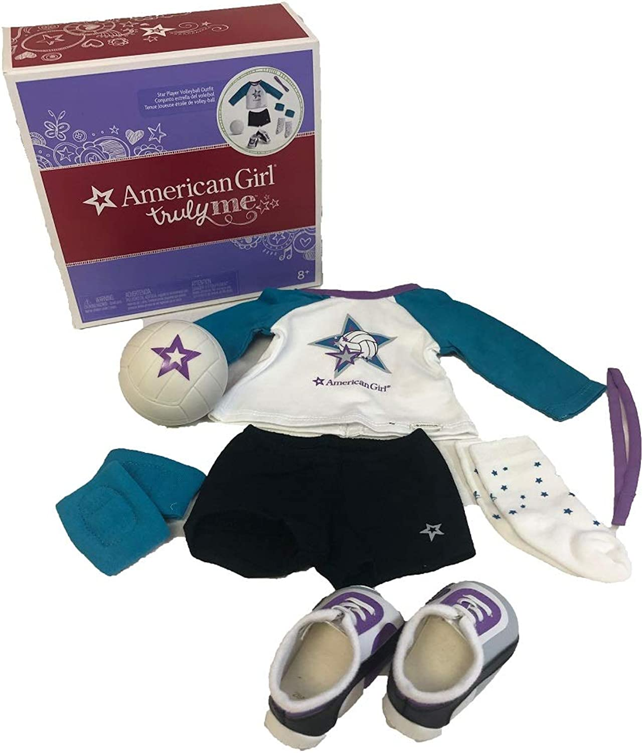 American Girl Star Player Volleyball Outfit for for for 18inch Dolls