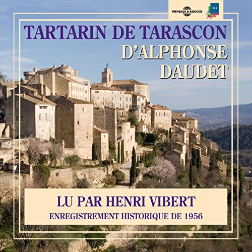 Tartarin de Tarascon audiobook cover art