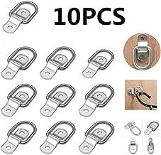 Sepikey 10 PCS D Anneau Darrimage pour Remorque Camion Bateau Arrimage Ancrage Anneaux Inoxydable