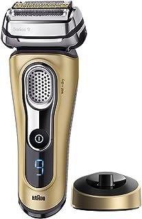 BRAUN 博朗 9299S电动剃须刀(金色 谐振声波科技 钛金修剪器 干湿两用 德国进口)