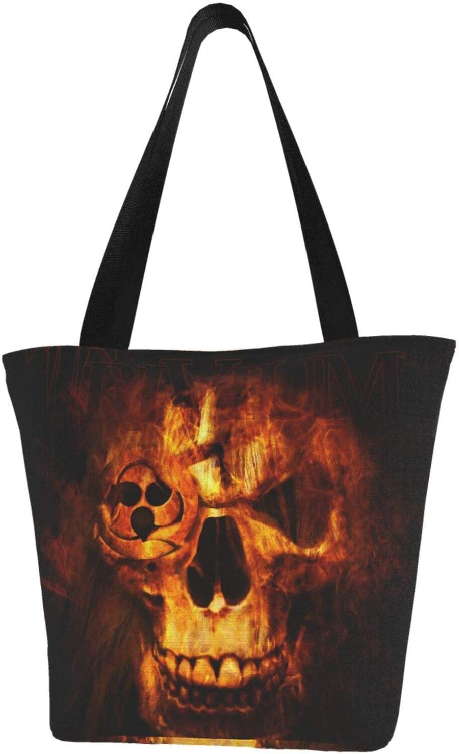 AKLID Cool Skull Extra Limited Special Price Large Water Tote Inventory cleanup selling sale Bag for Canvas Resistant