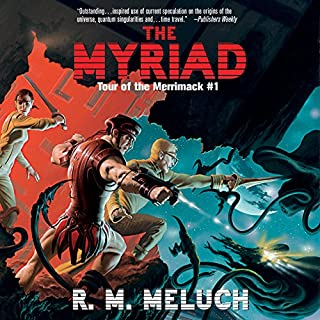 The Myriad audiobook cover art