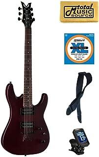 Dean Vendetta XM Satin Natural Electric Guitar FREE Strings Tuner Strap Cloth