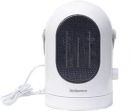 XGLL Calentador de Espacio para Oficina doméstica, calefactores electricos bajo Consumo, 2 velocidades del Viento, Protección contra sobrecalentamiento/volcado,Estufa electrica