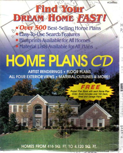 LOWE'S HOME PLANS CD--SIGNATURE SERIES (500 HOME PLANS!)