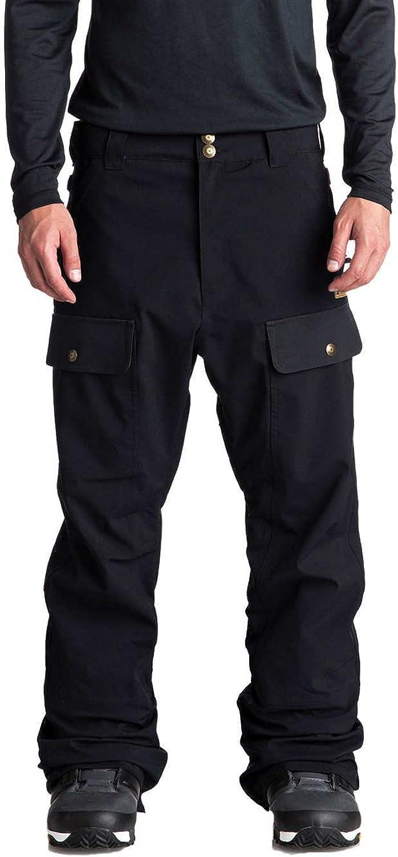 DC Black Asylum Snowboarding Pants