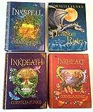 Set of 4 Inkheart, Inkspell, Inkdeath, Dragon Rider Books