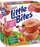 Entenmann's | Little Bites | STRAWBERRY YOGURT MUFFINS | Delicious | Yummy | |Tasty | | 5 Pouches with 4 muffins each | | Total 20 Muffins | 8.25 oz | (1 Box) |