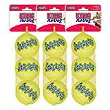 Kong Air Squeaker Tennis Balls Size: Medium (9 Balls in Total)