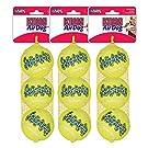 Kong Air Squeaker Tennis Balls Size: Medium (9 Balls in Total)