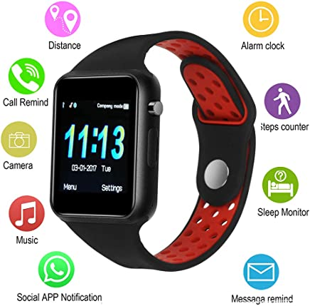 IOQSOF Smart Watches,IOQSOF Touchscreen Bluetooth Smart...