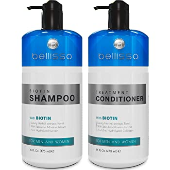Amazon Com Hair Growth Shampoo And Conditioner Set By Watermans