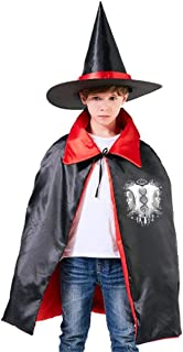 Who Am I Orphan Black Unisex Kids Hooded Cloak Cape Halloween Party Decoration Role Cosplay Costumes Outwear