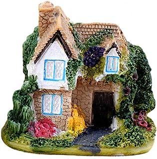 YeahiBaby Miniatura Jardín de Hadas de Casa de Resina Miniatura Decoración de Micro Paisaje (Aleatorio)