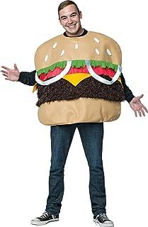 Men's Fur Burger Costume