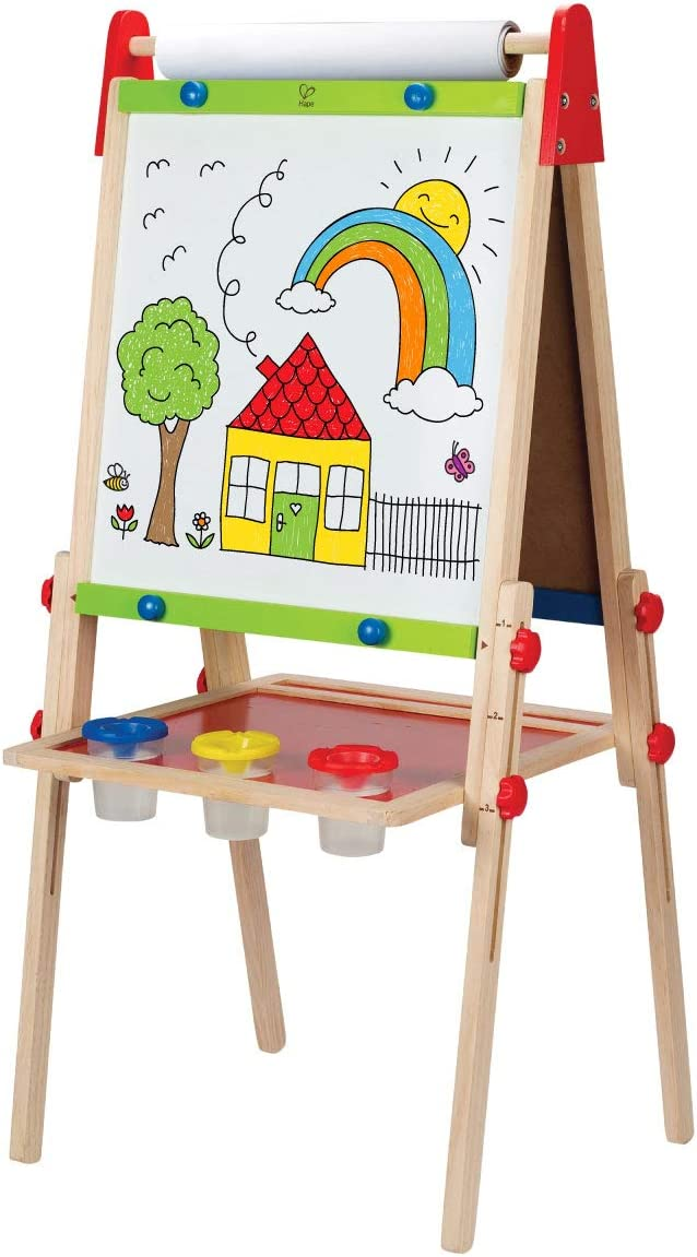 Award Winning Hape All-in-One Wooden Paper Kid's Nashville-Davidson Mall with Brand Cheap Sale Venue Easel Art