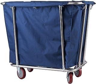 Chariot à Linge Chariot À Roulettes For Trieuse De Buanderie À Usage Intensif Commercial Avec Roues, Chariot De Tri For Pa...