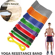JCGJ Resistance Band Set, Pull Up Assist Bands - Stretch Resistance Band - Mobility Band Powerlifting Bands for Resistance Training, Physical Therapy.
