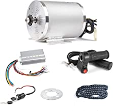 BLDC 72V 3000W Brushless Motor Kit with 24 Mosfet 50A Controller and Throttle for Electric Scooter E Bike Engine Motorcycl...