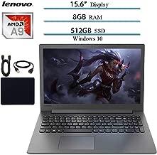 2019 Newest Lenovo, Ideapad Premium 15.6 Laptop Notebook Computer, AMD A9-9425 Up to 3.7GHz, 8GB RAM, 512GB SSD, DVD-RW, Wi-Fi, Bluetooth, Webcam, USB 3.0, HDMI, Windows 10 W/Accessories