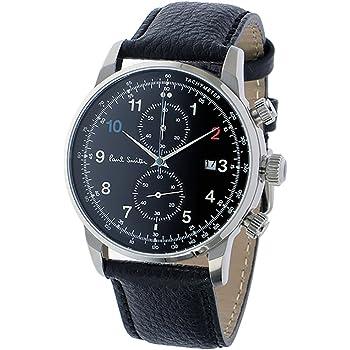 ポールスミス ブロック クロノ クオーツ メンズ 腕時計 P10140 ブラック [並行輸入品]