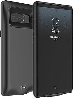 6567e2afbcf Galaxy Note 8 Funda Batería MOONMINI Ultra Delgado Cargador Batería Externa  Portable Power Bank Backup Carcasa