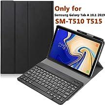 YMH Galaxy Tab A 10.1 2019 Keyboard Case T510 T515, Slim...