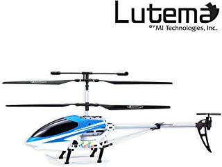Lutema Mid-Sized 3.5CH Remote Control Helicopter, Blue