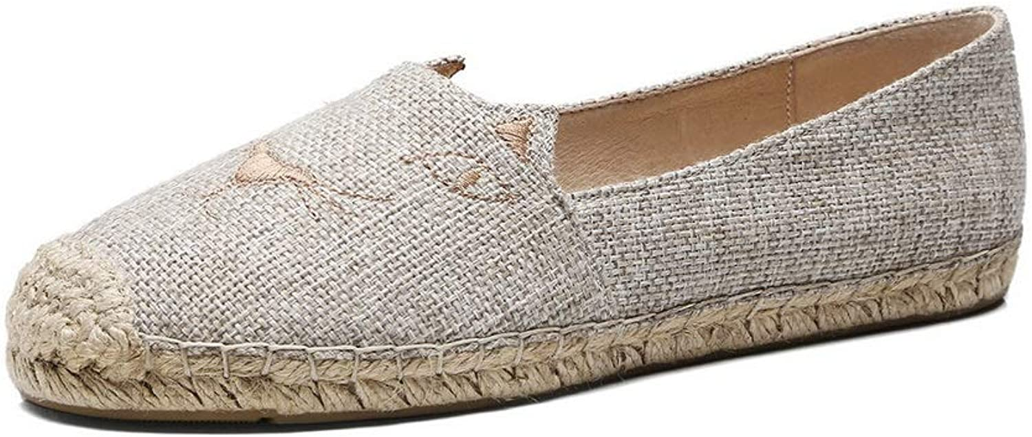 AN Womens Embroidered Assorted colors Fabric Pumps shoes DGU00791