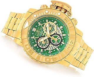 Sea Hunter Gen II 70mm Swiss Chronograph Green Dial 18K Gold Plated Watch