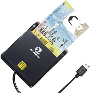 comprar comparacion Zoweetek® Lector de Tarjetas Smart Dual, diseño portátil y SDXC, Micro SDXC Tarjeta de Memoria de Alta Capacidad, Plug y P...