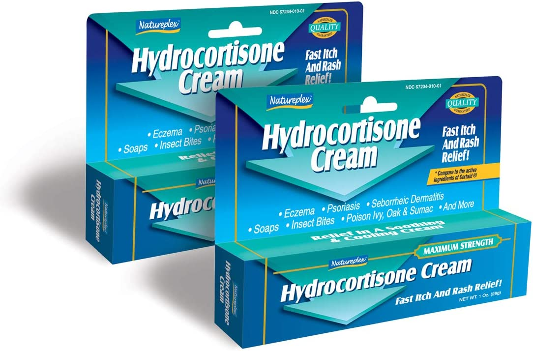 Hydrocortisone Cream Fast Itch and Pack Rash Relief 2 specialty sold out shop