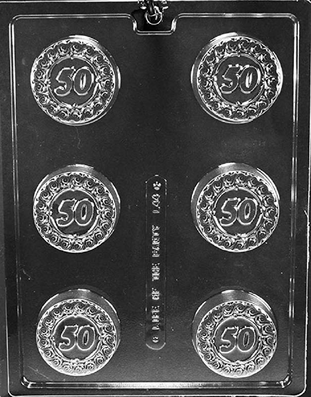 Grandmama S Goodies L044 50 Cookie Chocolate Candy Soap Mold With Exclusive Molding Instructions