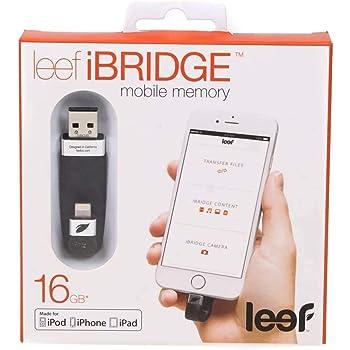Leef(リーフ) iPhone・iPad・iPod touchの容量不足解消 Lightning接続USBメモリ iBRIDGE 32GB 日本国内正規保証品 LIB000KK032E6