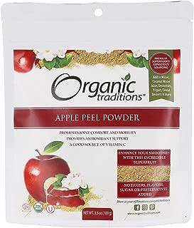 dried apple peel powder