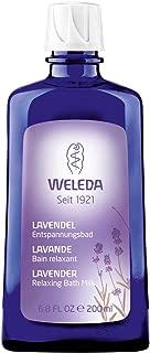 WELEDA Lavendel Entspannungsbad, Naturkosmetik Gesundheitsbad mit echtem Lavendelöl zur Beruhigung der Sinne und für guten Schlaf 1 x 200 ml