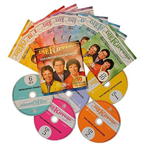 Das große Gesamtwerk - Die Flippers (10 CDs)