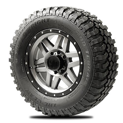 TreadWright CLAW II M/T Tire - Remold USA - LT35x12.50R20E Premier Tread Wear (40,000 miles)