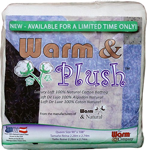 WARM COMPANY 2665 Warm and Plush Cotton Batting