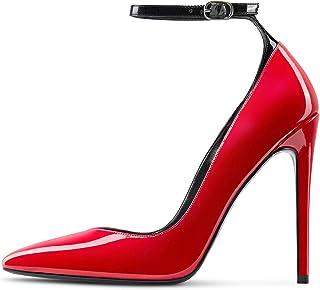 Castamere Scarpe col Tacco Donna Moda Cinturino alla Caviglia Tacco a Spillo 12CM High Heels