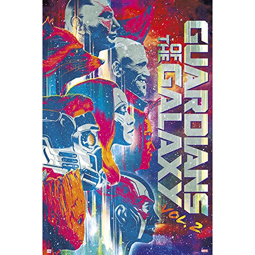 Grupo Erik GPE5133 Poster Guardians Of The Galaxy Vol 2, carta, Multicolore,  91 x 61,5 x 0,1 cm