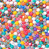 Narwhal Novelties Bouncing Balls; (250-Pack) Hi Bouncy Balls; 27mm, 1' Rubber Bouncy Ball Collection- Perfect for...